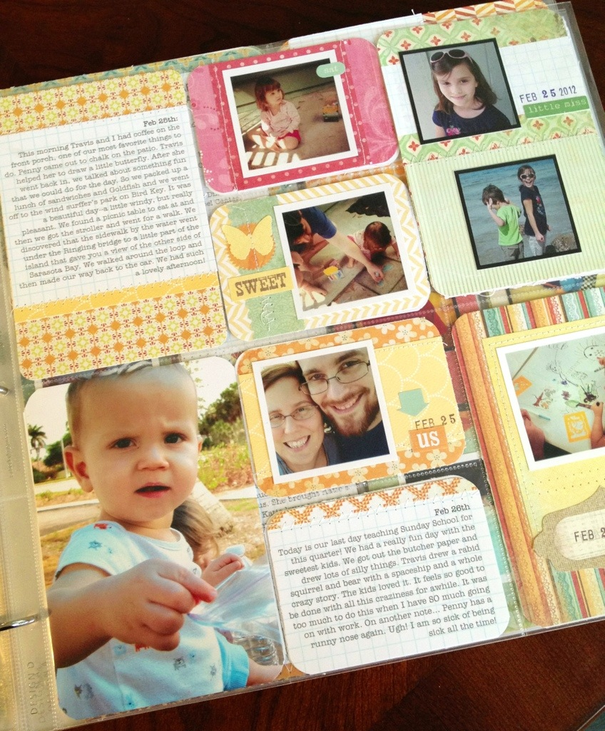 Project Life Week 8 by Nicole Seitler