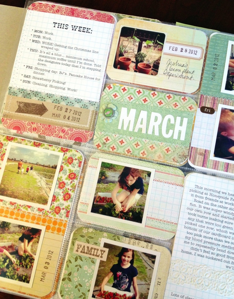 Project Life Week 9 by Nicole Seitler