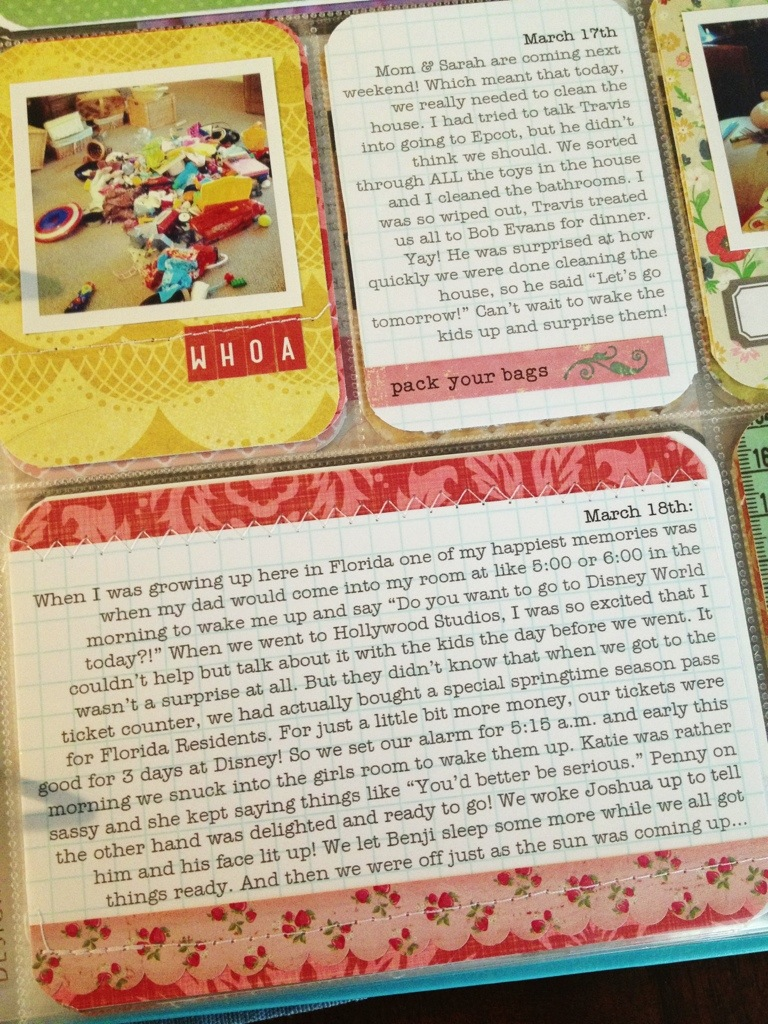 Project Life : Week 11 by Nicole Seitler